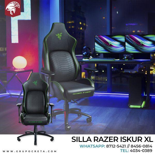 SILLA GAMER RAZER ISKUR XL RZ38-03950100-R3U1 Creta Gaming