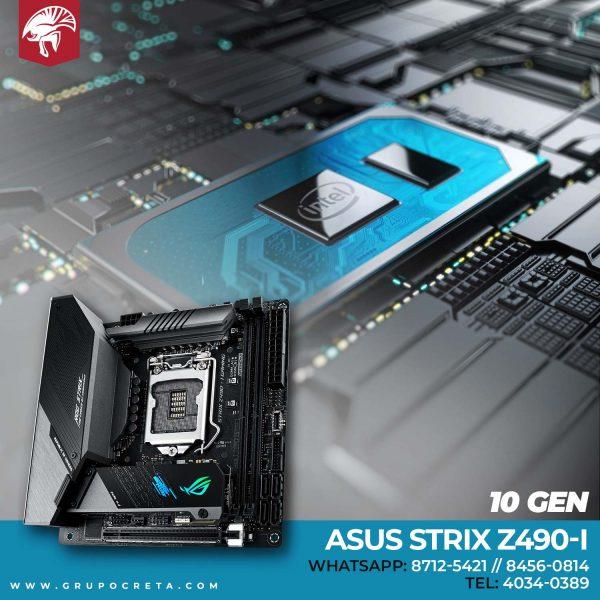 Tarjeta madre Asus ROG STRIX Z490-I Gaming Creta Gaming