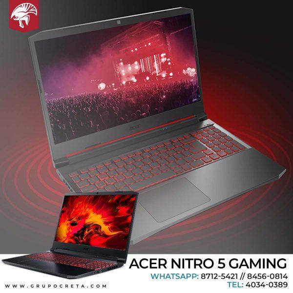 Laptop Acer Nitro 5 Gaming Intel Creta Gaming