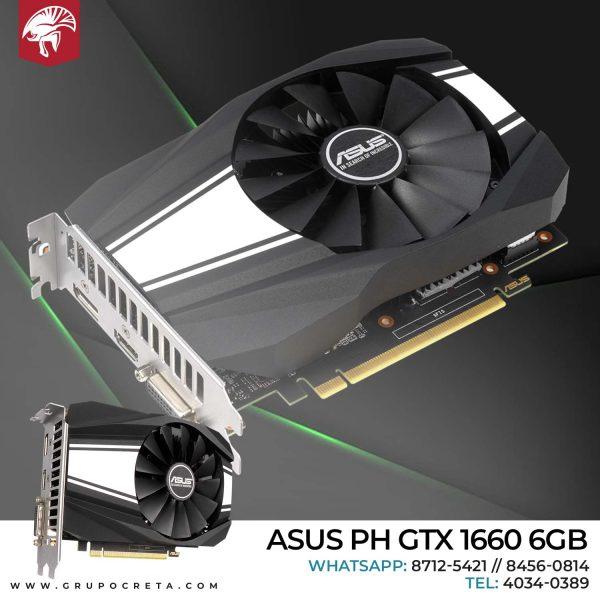 Tarjeta de video Asus PH GTX 1660 6GB Creta Gaming